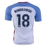 USA 2016 WONDOLOWSKI Home Soccer Jersey