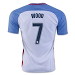 USA 2016 WOOD Home Soccer Jersey