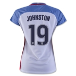 USA 2016 JOHNSTON Women's Home Soccer Jersey