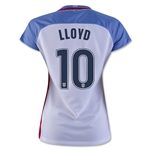 USA 2016 LLOYD Women's Home Soccer Jersey