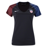 USA 2016 Women's Away Soccer Jersey