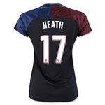 USA 2016 HEATH Women's Away Soccer Jersey
