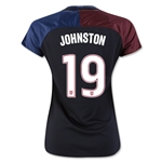 USA 2016 JOHNSTON Women's Away Soccer Jersey