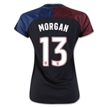 USA 2016 MORGAN Women's Away Soccer Jersey