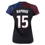 USA 2016 RAPINOE Women's Away Soccer Jersey