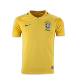 Brazil 2016 Youth Home Soccer Jersey