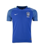 Brazil 2016 Youth Away Soccer Jersey