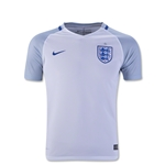 England 2016 Youth Home Soccer Jersey