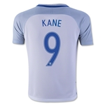 England 2016 KANE Youth Home Soccer Jersey
