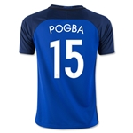 France 2016 POGBA Youth Home Soccer Jersey