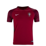 Portugal 2016 Youth Home Soccer Jersey