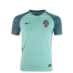 Portugal 2016 Youth Away Soccer Jersey