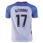 USA 2016 ALTIDORE Youth Home Soccer Jersey
