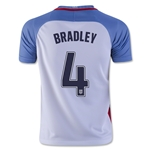 USA 2016 BRADLEY Youth Home Soccer Jersey