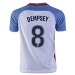 USA 2016 DEMPSEY Youth Home Soccer Jersey