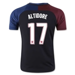 USA 2016 ALTIDORE Youth Away Soccer Jersey