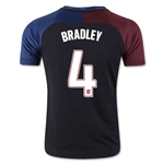 USA 2016 BRADLEY Youth Away Soccer Jersey