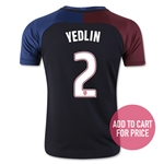 USA 2016 YEDLIN Youth Away Soccer Jersey