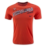 Nike UVA Dri-FIT Legend T-Shirt 16 (Orange)