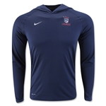 Nike USA Dri-FIT Touch Hoody (Navy)