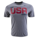 Nike USA Core Cotton T-Shirt 2 (Dk Gray)