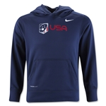Nike USA Youth KO Hoody (Navy)