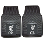 Liverpool Heavy Duty 2-Piece Vinyl Car Mats