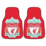 Liverpool 2-Piece Carpeted Car Mats