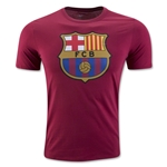 Barcelona Crest T-Shirt (Red)