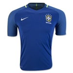 Brazil 2016 Authentic Away Soccer Jersey