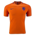 Netherlands 2016 Authentic Home Soccer Jersey