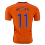 Netherlands 2016 ROBBEN Authentic Home Soccer Jersey