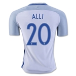 England 2016 ALLI Authentic Home Soccer Jersey