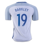 England 2016 BARKELY Authentic Home Soccer Jersey