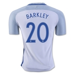 England 2016 BARKLEY Authentic Home Soccer Jersey