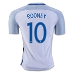 England 2016 ROONEY Authentic Home Soccer Jersey