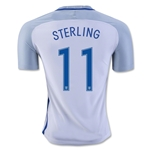 England 2016 STERLING Authentic Home Soccer Jersey