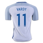 England 2016 VARDY Authentic Home Soccer Jersey