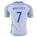 England 2016 WALCOTT Authentic Home Soccer Jersey