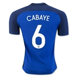 France 2016 CABAYE Authentic Home Soccer Jersey