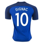 France 2016 GIGNAC Authentic Home Soccer Jersey