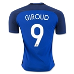 France 2016 GIROUD Authentic Home Soccer Jersey