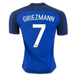 France 2016 GRIEZMANN Authentic Home Soccer Jersey