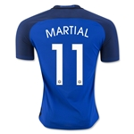 France 2016 MARTIAL Authentic Home Soccer Jersey