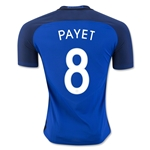 France 2016 PAYET Authentic Home Soccer Jersey