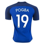 France 2016 POGBA Authentic Home Soccer Jersey