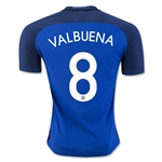 France 2016 VALBUENA Authentic Home Soccer Jersey