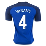 France 2016 VARANE Authentic Home Soccer Jersey