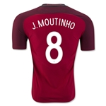 Portugal 2016 J. MOUTINHO Authentic Home Soccer Jersey