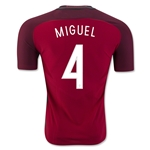 Portugal 2016 MIGUEL Authentic Home Soccer Jersey